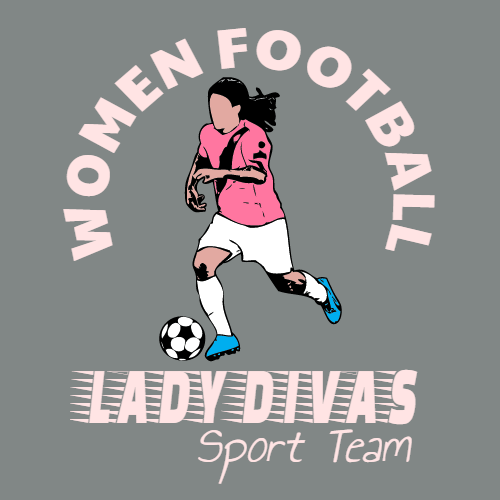 women football lady divas sporting team