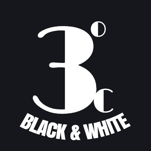 3 degree c black and white