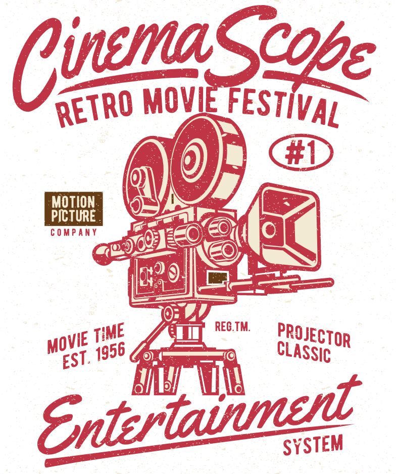 retro cinema scope