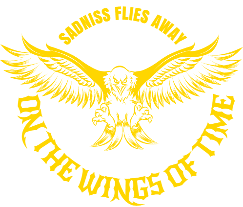 sadniss flies away on the wings of time